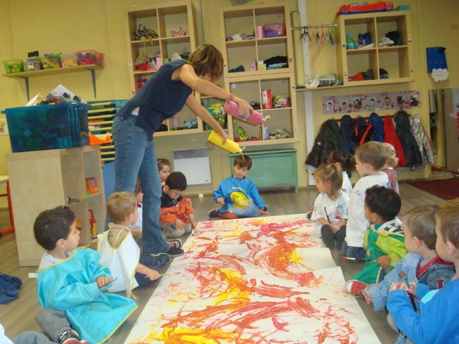 La rentrée des Lutins de la classe passerelle s'est bien déroulée. Cette année notre structure compte 13 garçons et 4 filles.
