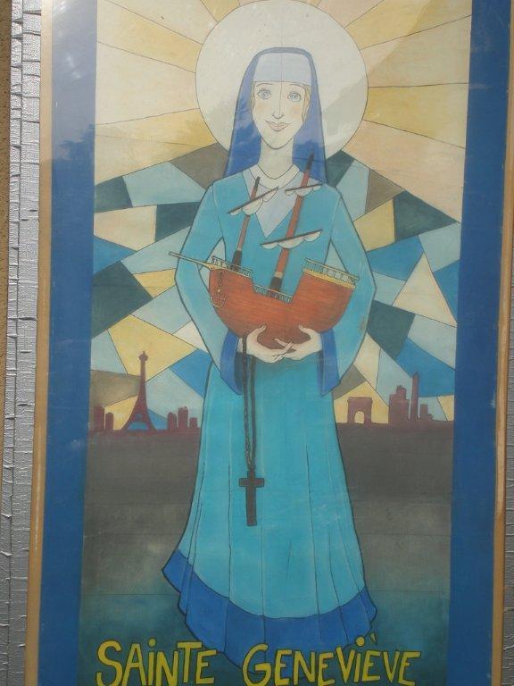 Nous fêterons Sainte Geneviève mardi 03 janvier