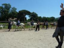Initiation au poney classe de MS Juin 2012