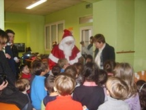 Décembre 2012: le Père Noël est venu nous rendre visite!