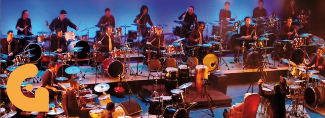 Sortie musicale à Odyssud pour les 5e :  Ali Baba et les 40 batteurs
