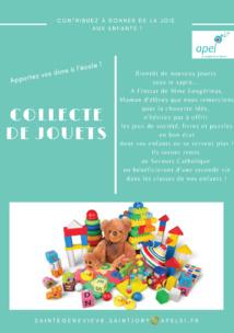 Les dons de jouets