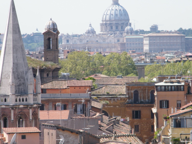 Sainte Geneviève à Rome,  ville éternelle