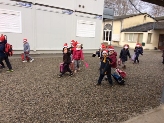 En route vers le Marché de Noël !