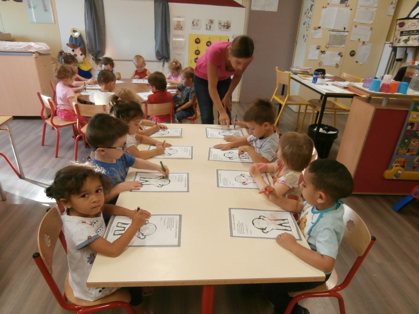 """Rentrée 2014 des """"lutins"""" de la classe passerelle"""