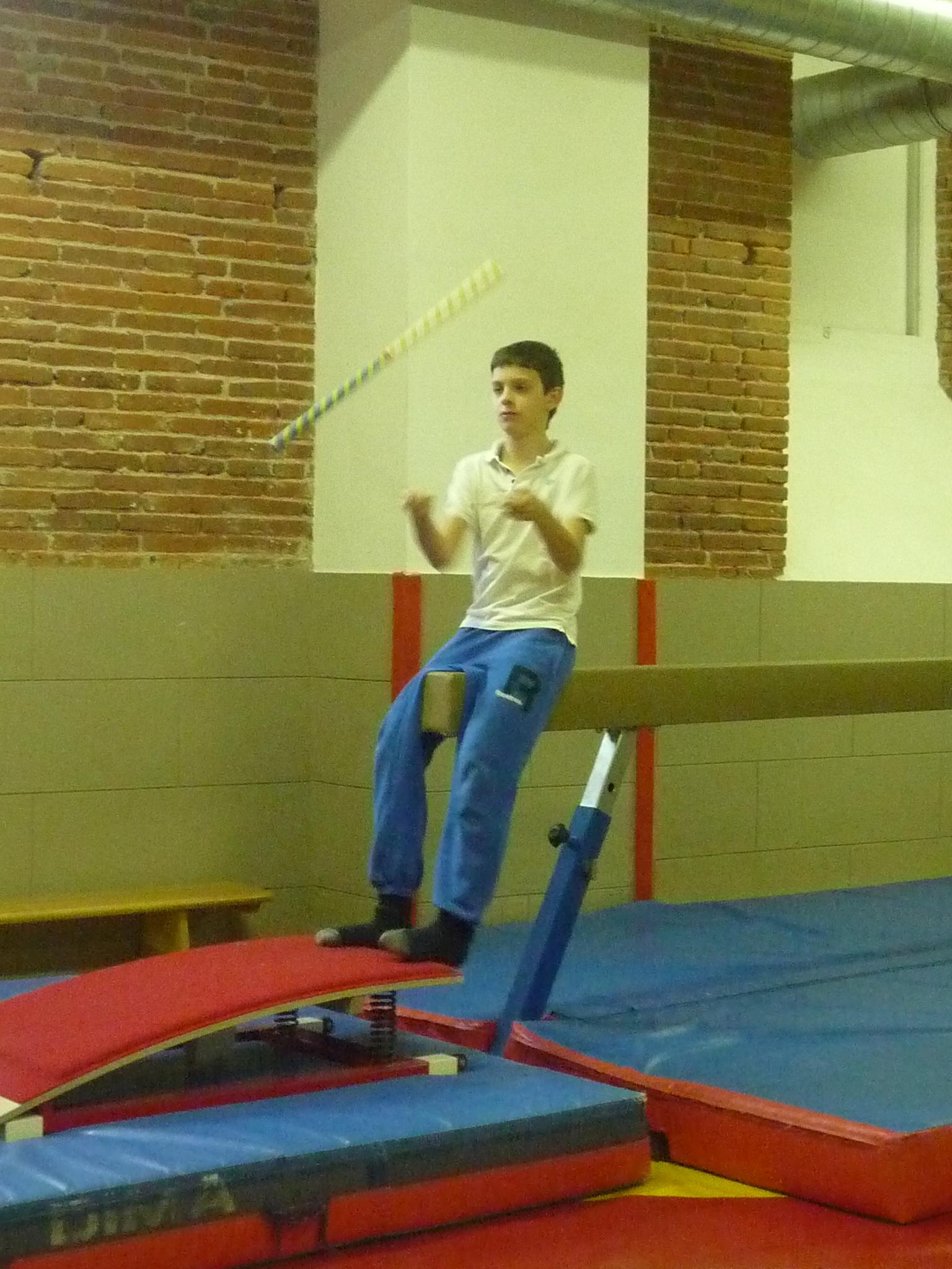L'AS Cirque à Pibrac ce 21 janvier 2015