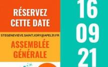 AG APEL Sainte Geneviève de Saint Jory