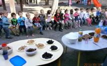 En maternelle, semaine du goût : autour du CHOCOLAT !